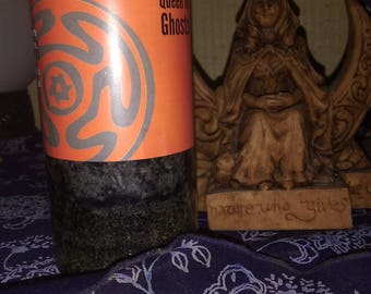 Hekate candle queen of ghosts summoning candle