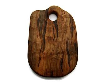 Figured Maple Cutting Board, Maple Cutting Board, Wood Cutting Board, Charcuterie Board, Food Serving Board, Housewarming Gift