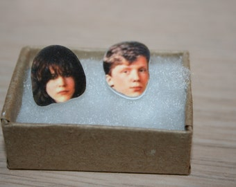 The Breakfast Club Anthony Michael Hall Ally Sheedy Earrings Movies Celebrity Jewelry