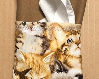 Tissue Holder with Pocket