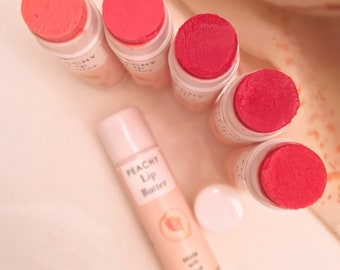 Pack of 2 to 12 | Lip Balm Set | Lip Butter Set | Scented & Non-Scented | Tinted or Non-Tinted