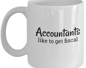 Accountant Clever Gift |  Gift for Accountant | HR Payroll Quote Mug