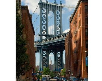 New York City Wall Art, Bridges, Set of 3 Prints, Brooklyn Bridge, Manhattan Bridge, Queensboro, New York City Prints, Deborah Julian