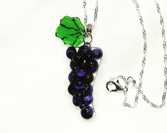 Fused glass fusing glass grape cluster