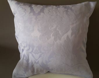 Cushion cover 40 x 40 cm. Lavender jacquard fabric