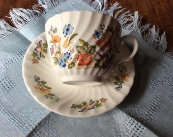 Aynsley Tea Cup and Saucer Cottage Garden