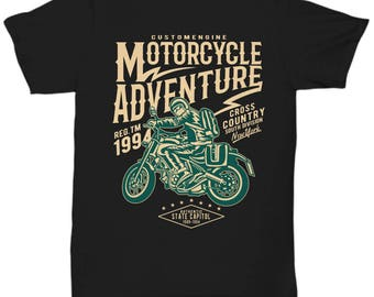 Motorcycle Adventure 1994 T-shirt