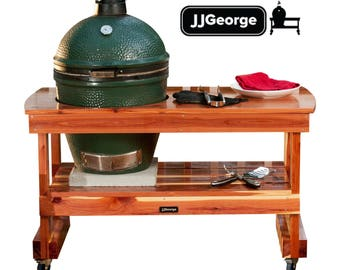 Merveilleux Big Green Egg Table FREE SHIPPING!! (Long Table For Large Green Egg)