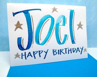 Name Card -Joel