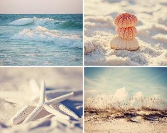 beach photography collection, cottage art, starfish decor, blue home decor, starfish art, beach decor, ocean photography beach no 2