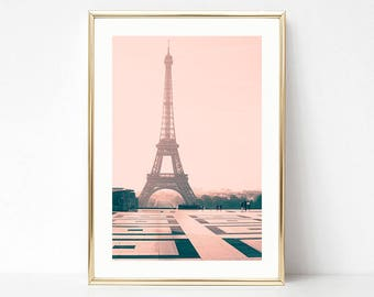 Paris photography, framed wall art, Paris wall art, large wall art, Paris prints, canvas art, Paris decor, Eiffel tower, cherry blossom