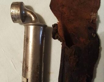 Vintage Schrader Air Pressure Gauge / Tire Pressure Gauge / 1922 / Truck Tire Gauge / L@@K!!