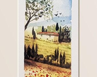 Tuscany, spring, tuscan landscape