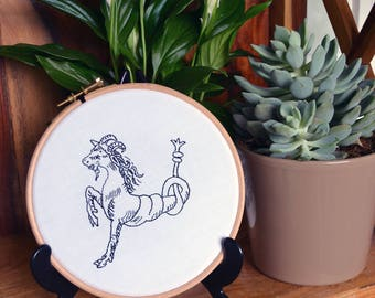 Capricorn Zodiac Embroidery Kit