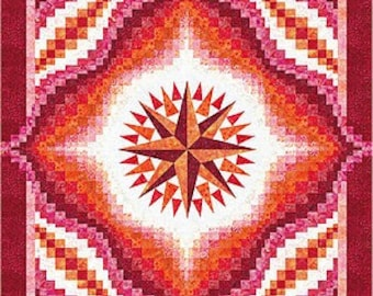 Lakeview Quilts - Red Sky at Night - Pattern kit