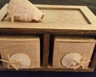 Sea coastal beach storage boxes in storage box