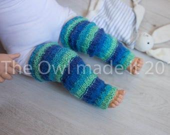 Baby wool leg warmers   Toddler leg warmers  Infant leg warmers  Knit leg warmers  Knit leggings  Wool leggings  UK seller