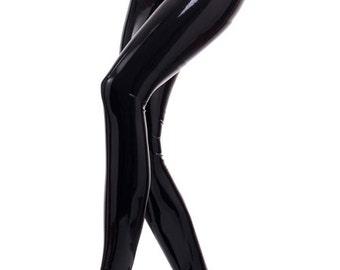 Rubber Latex Tights 2 way zipper - Westward Bound R087b MADE/DESIGNED UK