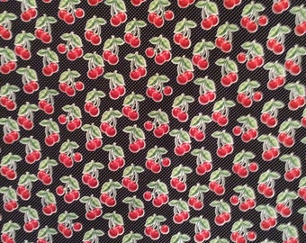 A Cheeries Tossed Allover By Mary Engelbreit Cotton Fabric BTY Free US Shipping