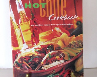 Hot Chile Cookbook, Latin cookbook, ConMisManosVintage