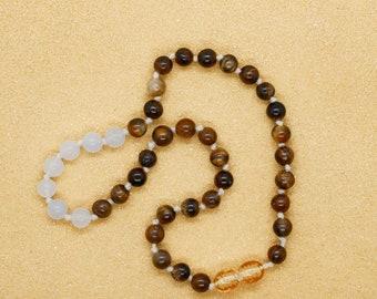 Custom Gemstone Necklace for Baby