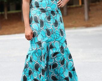 Ankara dress/Ankara lace dress