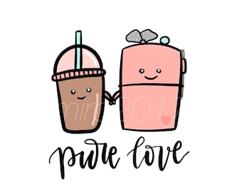 Pure Love Frappe and TN Printable