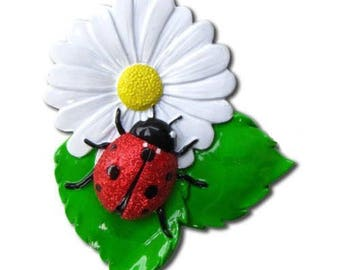 Ladybug Personalized Christmas Tree Ornament