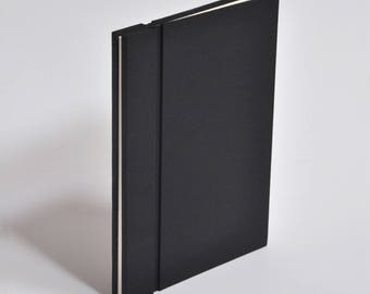 Blank notebook modular magnetic covers