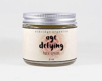 Age Defying Face Cream - Organic Face Cream - Organic Face Lotion - Anti-Aging Lotion