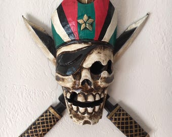 Pirates sign Skull decor by SEASTYLE