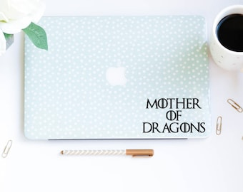 Game of Thrones Decal Targaryen Decal Mother of Dragons Khaleesi Decal Computer Decal, Car Decal,MacBook Decal