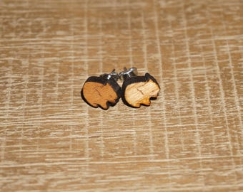 Wombat Earrings