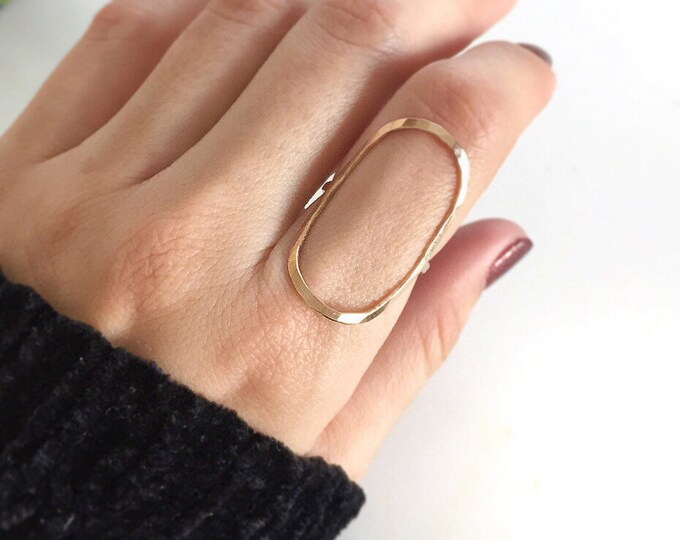 Featured listing image: Oval Ring, Circle Ring, Geometric Ring, Gold Oval Ring, Big Oval Ring, Big Circle Ring, Silver Ring, Rose Gold Ring, Stacking Ring