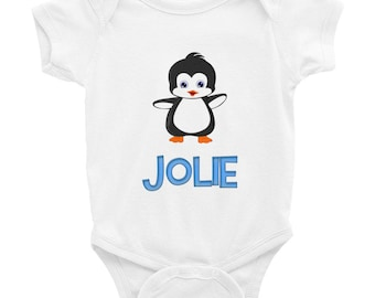 Jolie Penguin Infant Bodysuit