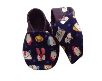 Farm Animal Baby Shoes