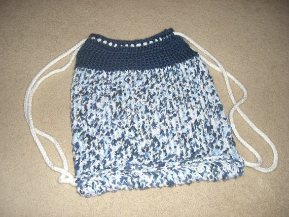 Cinch Backpack A Loom Knit Pattern From Daynascolesdesigns On Etsy