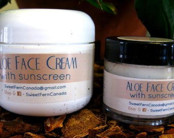 Aloe Face Cream with Sunscreen