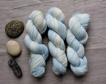 Sky 4ply- Hand Dyed Yarn -  sock merino wool