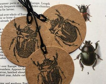 Beetle tags x 6