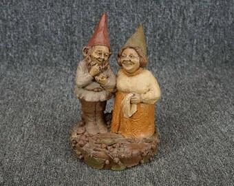 Vintage Tom Clark Jay And Martha Resin Figurine 1983
