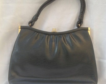 "Vintage ""Lanca"" Green Handbag"