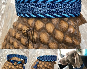 Paracord Halfcheck Dog Collar Ilene