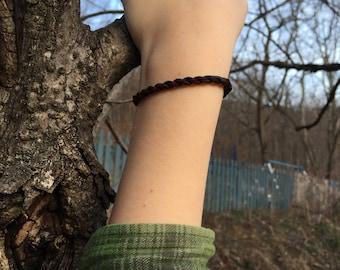 Children- Corded Deerskin Bracelet