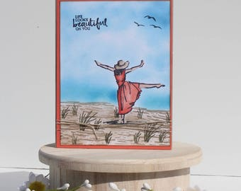 Dancing Mother's Day Card