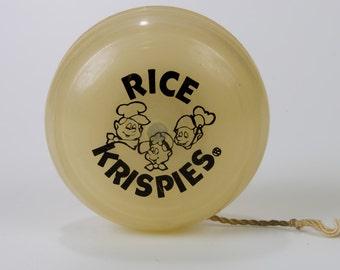Vintage Duncan Glow Imperial Yo Yo Kellogg's Rice Krispies Promotional Advertising