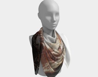 Power and Ice Western Scarf