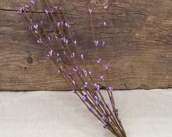 """16"""" Pip Berry Stems in a Lavender Purple - Package of 10 Stems"""