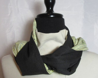 Unisex Scarf from Upcycled Men's Clothing