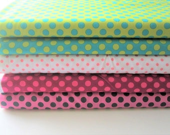 Fat Quarter Bundle-Michael Miller TA Dot